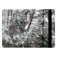 Winter Fall Trees Samsung Galaxy Tab Pro 12 2  Flip Case