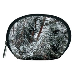Winter Fall Trees Accessory Pouches (Medium)