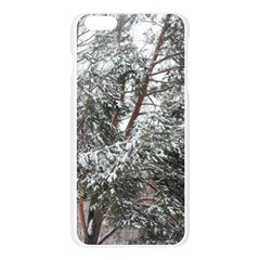 Winter Fall Trees Apple Seamless iPhone 6 Plus/6S Plus Case (Transparent)