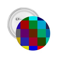 Chessboard Multicolored 2.25  Buttons