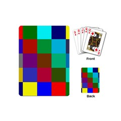 Chessboard Multicolored Playing Cards (Mini)