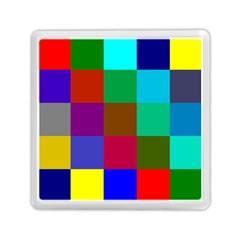 Chessboard Multicolored Memory Card Reader (Square)
