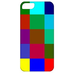 Chessboard Multicolored Apple iPhone 5 Classic Hardshell Case