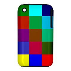 Chessboard Multicolored iPhone 3S/3GS