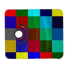 Chessboard Multicolored Galaxy S3 (Flip/Folio)