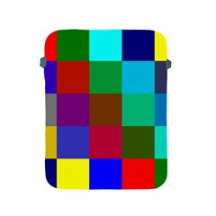 Chessboard Multicolored Apple iPad 2/3/4 Protective Soft Cases