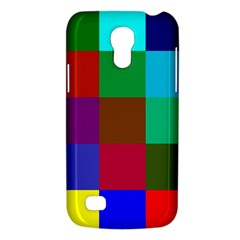 Chessboard Multicolored Galaxy S4 Mini