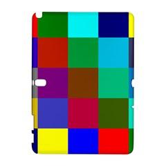 Chessboard Multicolored Galaxy Note 1