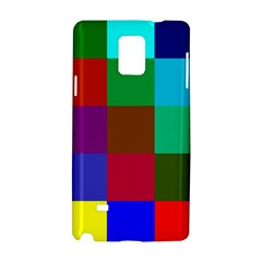 Chessboard Multicolored Samsung Galaxy Note 4 Hardshell Case