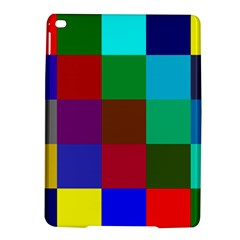 Chessboard Multicolored iPad Air 2 Hardshell Cases
