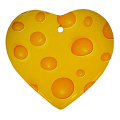 Cheese Ornament (heart)