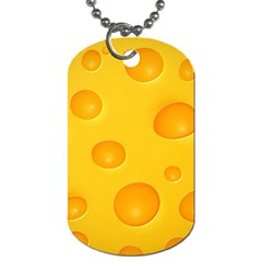 Cheese Dog Tag (One Side)