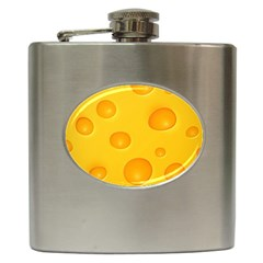 Cheese Hip Flask (6 oz)
