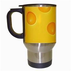 Cheese Travel Mugs (White)