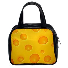 Cheese Classic Handbags (2 Sides)