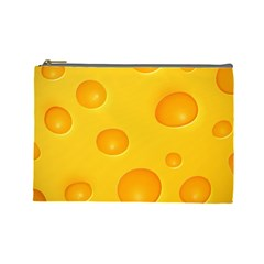 Cheese Cosmetic Bag (Large)