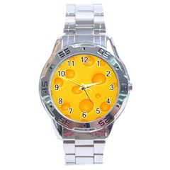 Cheese Stainless Steel Analogue Watch