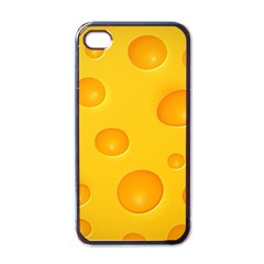 Cheese Apple iPhone 4 Case (Black)