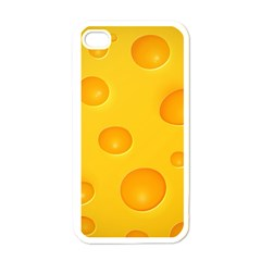 Cheese Apple iPhone 4 Case (White)