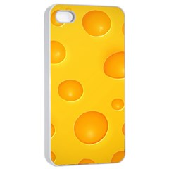 Cheese Apple iPhone 4/4s Seamless Case (White)