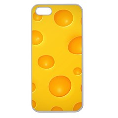 Cheese Apple Seamless iPhone 5 Case (Clear)