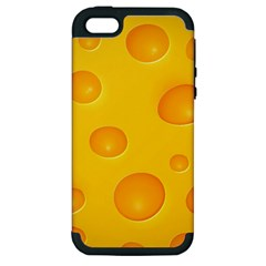 Cheese Apple iPhone 5 Hardshell Case (PC+Silicone)