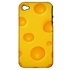 Cheese Apple iPhone 4/4S Hardshell Case (PC+Silicone)