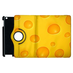 Cheese Apple iPad 3/4 Flip 360 Case