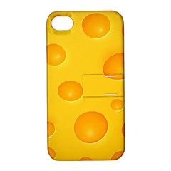 Cheese Apple iPhone 4/4S Hardshell Case with Stand