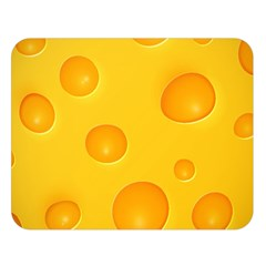 Cheese Double Sided Flano Blanket (Large)