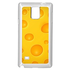 Cheese Samsung Galaxy Note 4 Case (White)