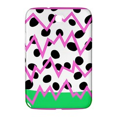 Wave Chevron Circle Purple Green White Black Samsung Galaxy Note 8.0 N5100 Hardshell Case