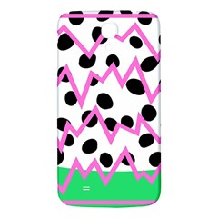 Wave Chevron Circle Purple Green White Black Samsung Galaxy Mega I9200 Hardshell Back Case