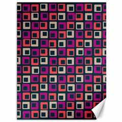 Abstract Squares Canvas 36  x 48