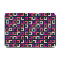 Abstract Squares Small Doormat