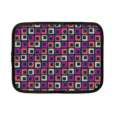 Abstract Squares Netbook Case (Small)