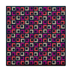 Abstract Squares Face Towel