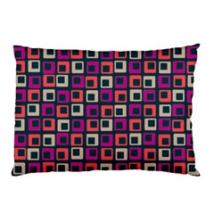 Abstract Squares Pillow Case