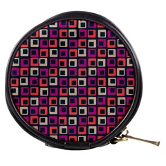 Abstract Squares Mini Makeup Bags