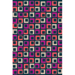 Abstract Squares 5.5  x 8.5  Notebooks