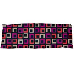 Abstract Squares Body Pillow Case (Dakimakura)