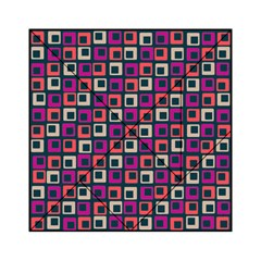 Abstract Squares Acrylic Tangram Puzzle (6  x 6 )