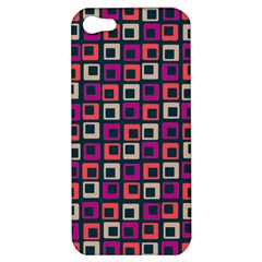 Abstract Squares Apple iPhone 5 Hardshell Case