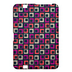 Abstract Squares Kindle Fire HD 8.9