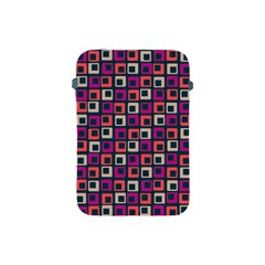 Abstract Squares Apple iPad Mini Protective Soft Cases