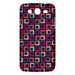 Abstract Squares Samsung Galaxy Mega 5.8 I9152 Hardshell Case