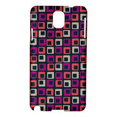 Abstract Squares Samsung Galaxy Note 3 N9005 Hardshell Case