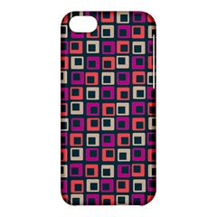 Abstract Squares Apple iPhone 5C Hardshell Case