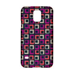 Abstract Squares Samsung Galaxy S5 Hardshell Case
