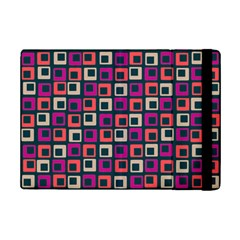 Abstract Squares iPad Mini 2 Flip Cases